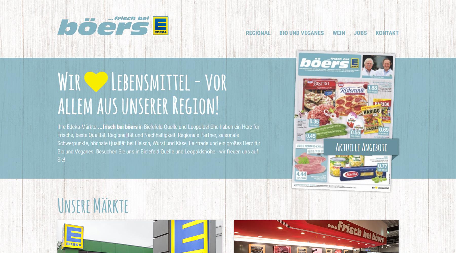 EDEKA Böers in Bielefeld und Leopoldshöhe